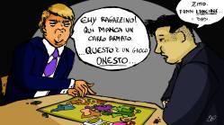 Di Ester Di Bona – Donald Trump e Kim Jong-un giocano a Risiko!