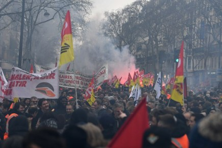 FRANCE-LABOUR-STRIKE